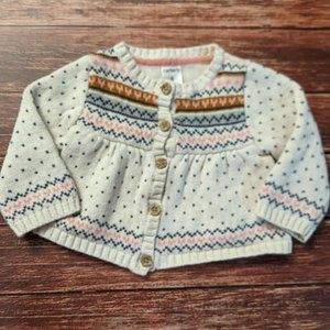 Heart Cardigan Sweater